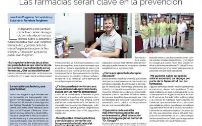 Ens entrevisten a La Vanguardia