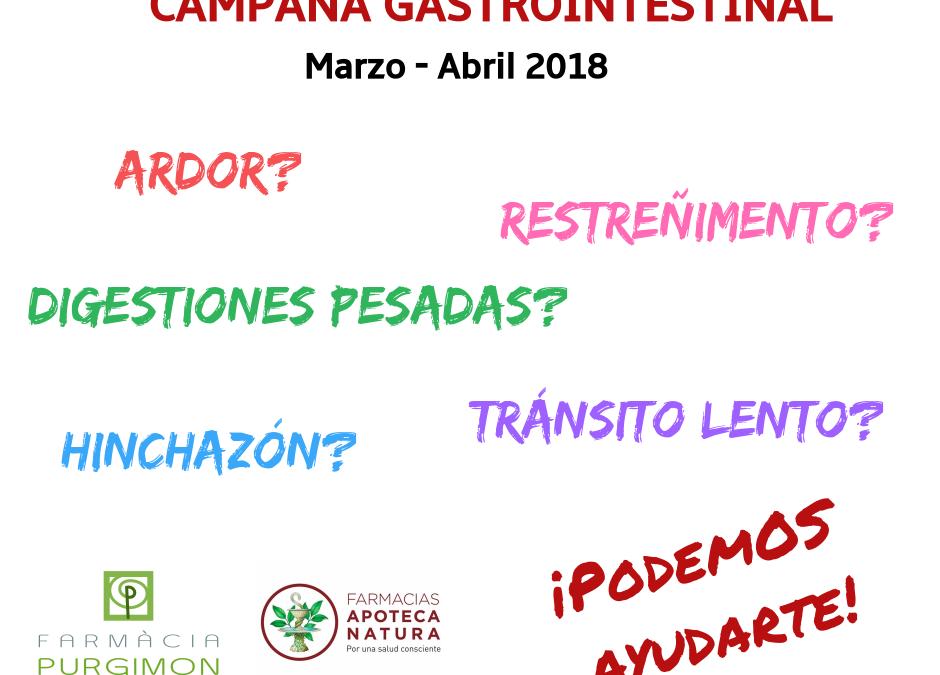 CAMPAÑA GASTROINTESTINAL