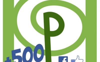 500!! Me Gusta a la pàgina del Facebook